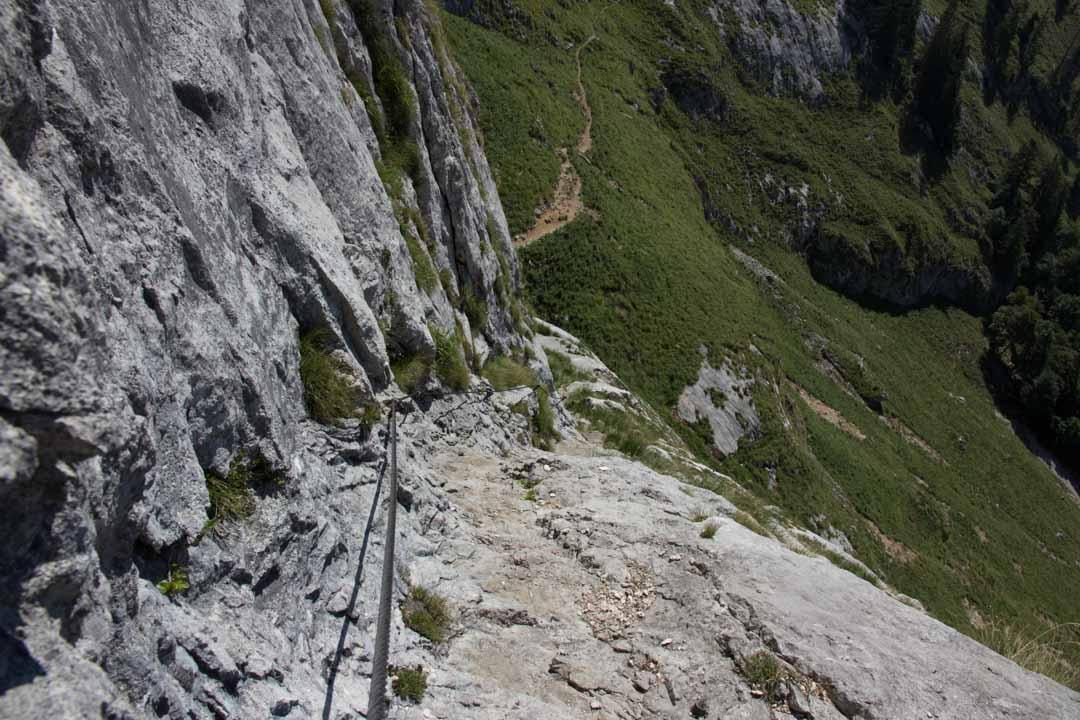 Wanderung Zum Schafberg über Himmelspforte und Abstieg über Purtschellersteig