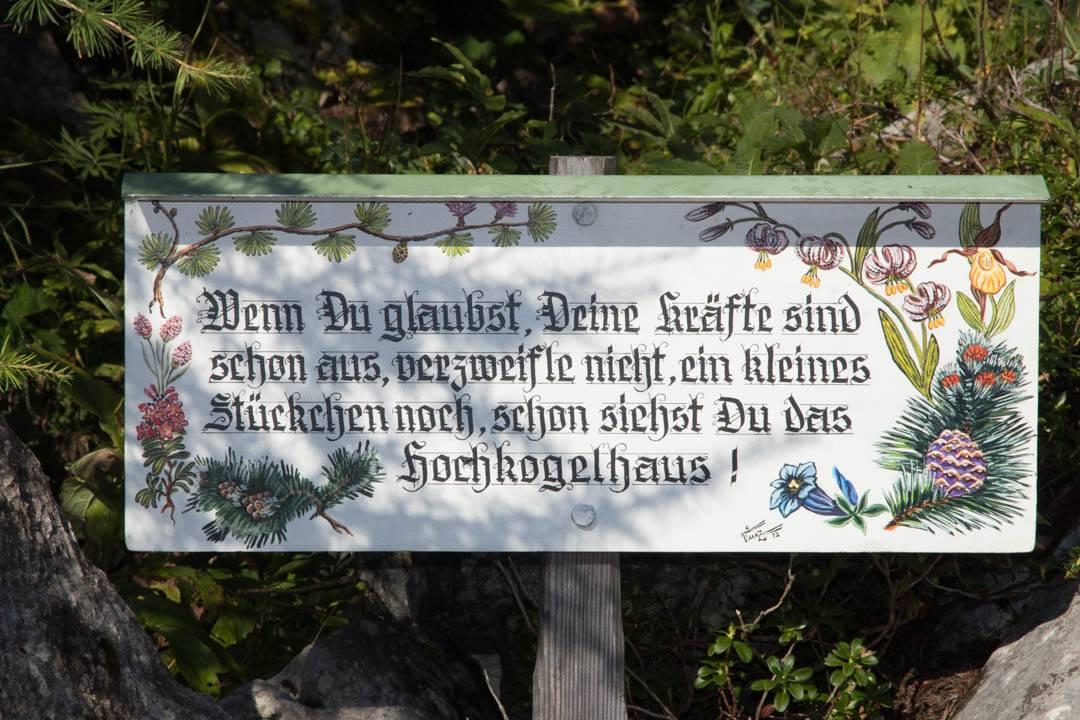 Wanderung auf den großen Schönberg