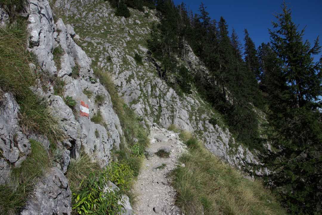 Wanderung auf den Traunstein (1691m) über den Mairalmsteig